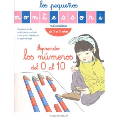 Peque—os Montessori Aprendo los Numeros del 0 Al 10 3 a 5 a