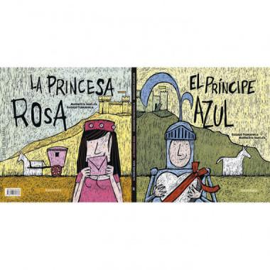 Princesa Rosa el Principe Azul Silent Book,la