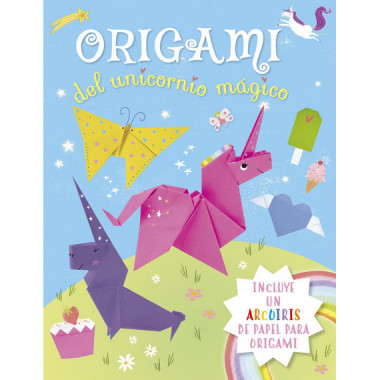 Origami el Unicornio Magico