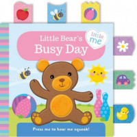 Little Bears Busy Day Cloth Book Ingles