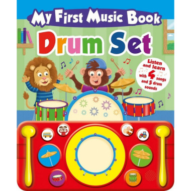 My First Music Book Drum Ingles