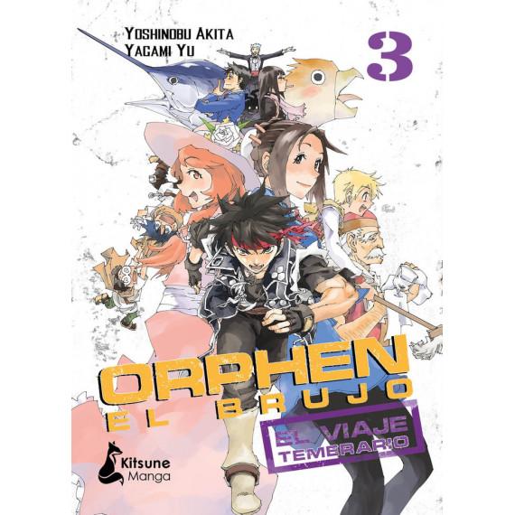 Orphen el Brujo el Viaje Temerario Vol 3