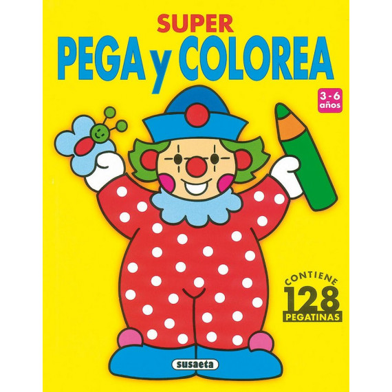 Super Pega y Colorea Susaeta