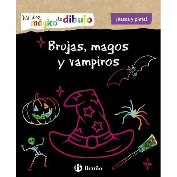 mi Libro Magico de Dibujo Brujas Magos y Vampiros
