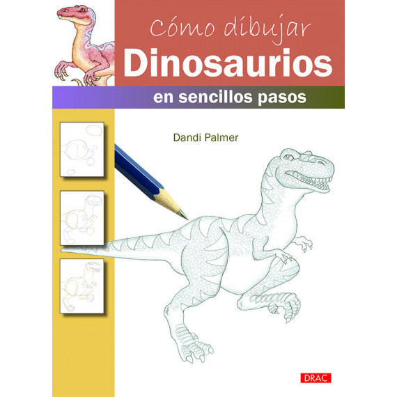 Como Dibujar Dinosaurios en Sencillos Pasos
