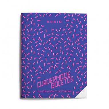 Cuaderno Bocetos Ilustracion y Lettering (a—os 80)