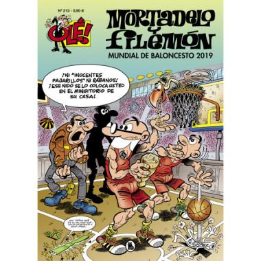 Mundial de Baloncesto 2019 Ole Mortadelo