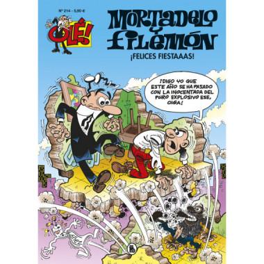 Ole Mortadelo 214 Felices Fiestas