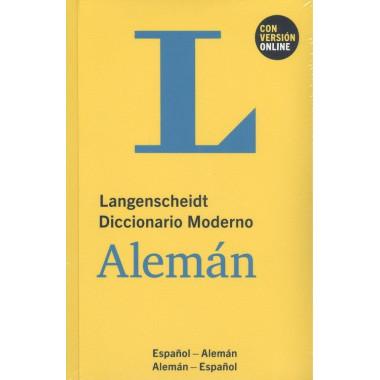 Langenscheidt Diccionario Moderno Aleman Espa—ol