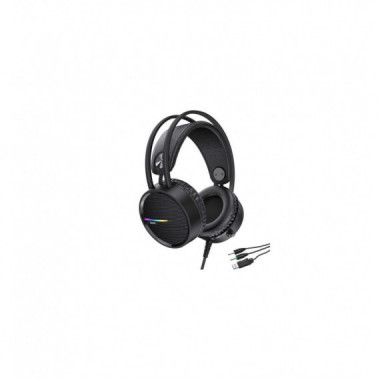 Auricular Hoco W100 Touring Gaming 3.5MM + USB