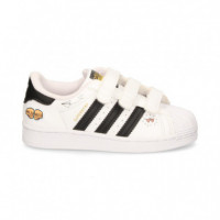 Zapatilla Superstar Grafitis Blanco  ADIDAS