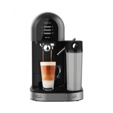 Cafetera Semiautomática Instant-ccino 20 Chic Serie Nera  CECOTEC