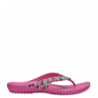 Kadee Ii Graphic Flip W Rosa-multicolor  CROCS