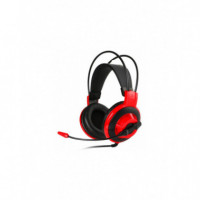 MSI DS501 Auriculares Gaming Black/red