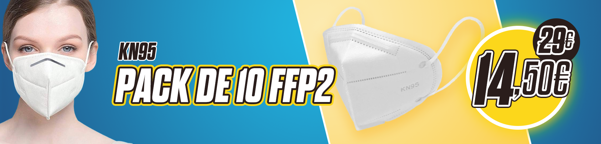Ofertas Mascarillas FFP2 en Guanxe.com