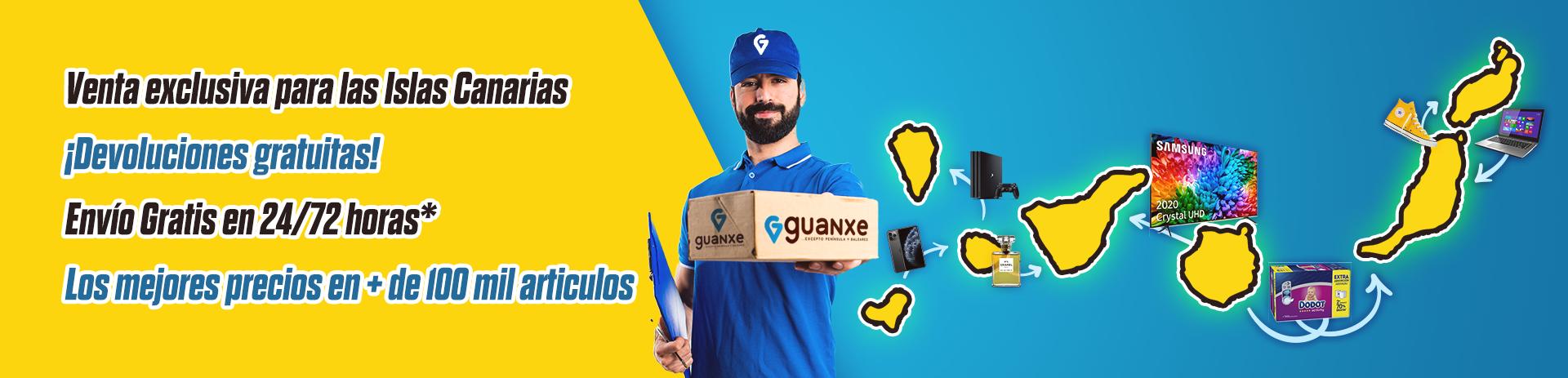 Envío y Devoluciones GRATIS en guanxe.com